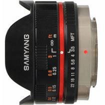 7.5mm 1:3.5 UMC Fish-eye MFT [�u���b�N]